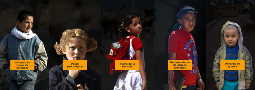 Niñ@s de Siria