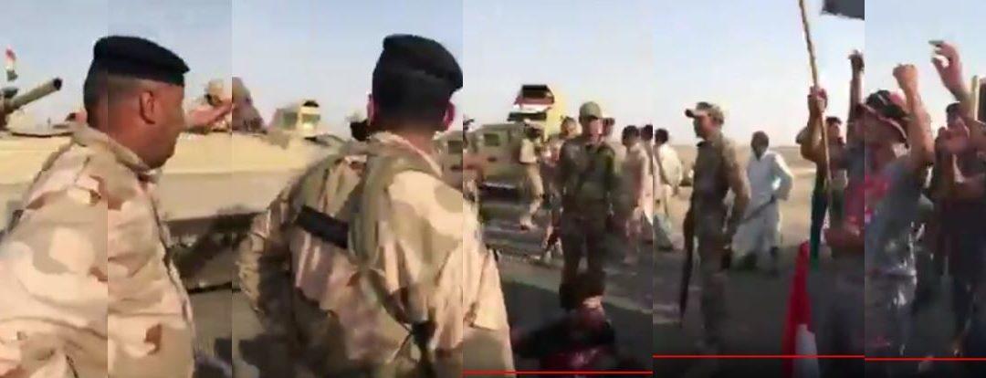 Irak: vehículos blindados contra protestas no violentas en campos petrolíferos de Exxon Mobil y Eni