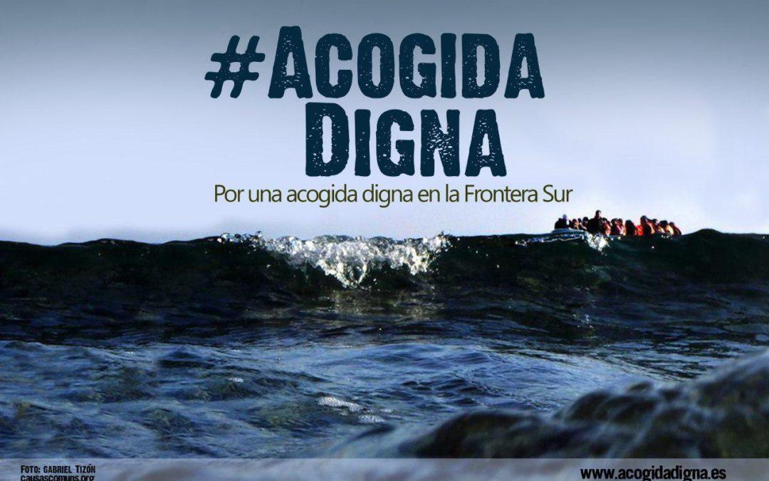 Frente a la imprevisión de ayer o la improvisación de hoy: #AcogidaDigna ya