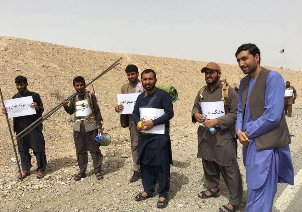 Cómo el movimiento afgano por la paz está ganando simpatías