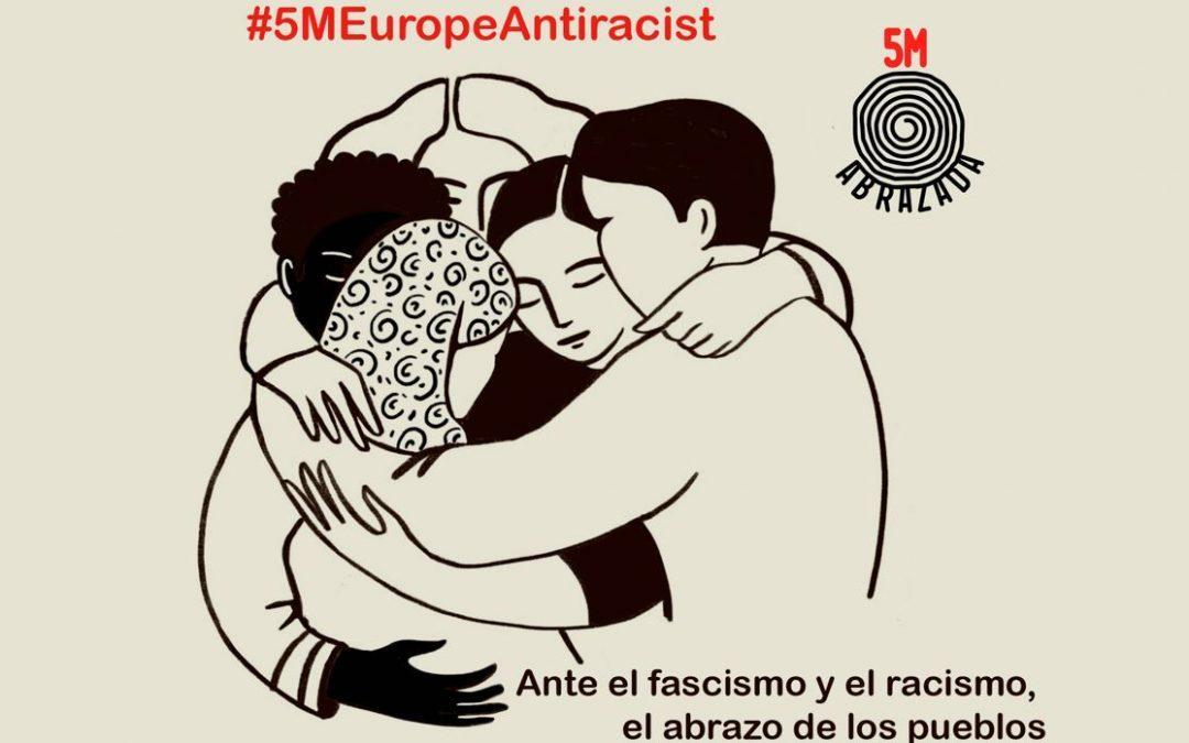 Manifiesto antimilitarista de la iniciativa «El abrazo de los pueblos» Denunciamos todas las guerras y sus consecuencias