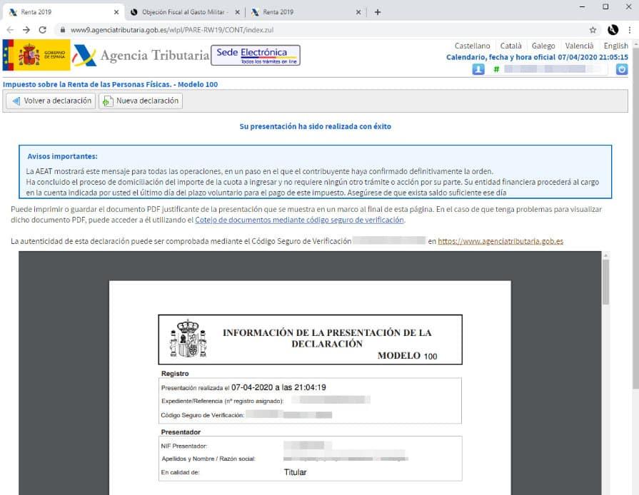 Cuadro descarga PDF