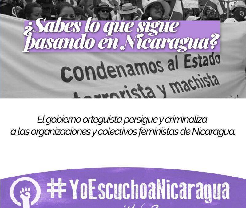 ¿Sabes lo que sigue pasando en Nicaragua? #YoEscuchoaNicaragua